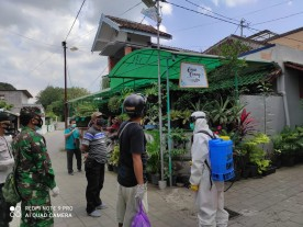 Bersama   Badan Penanggulangan Bencana Daerah  Kota Yogyakarta Pencegahan  Virus  Covid-19