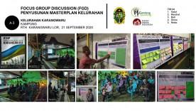 Penyusunan Masterplan Kelurahan Karangwaru