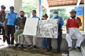 Sepeda Wisata Gowes  Kampung Karangwaru Bersama  Walikota/Wakil Walikota